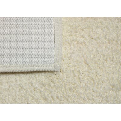 Engelman Luxury Latex Micro Fiber Bath Rug Size: 21 W x 34 L, Color: Ivory