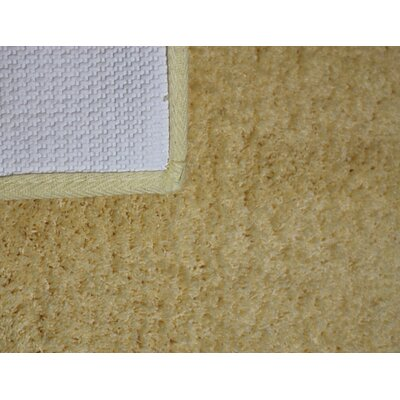Engelman Luxury Latex Micro Fiber Bath Rug Size: 30 W x 50 L, Color: Gold