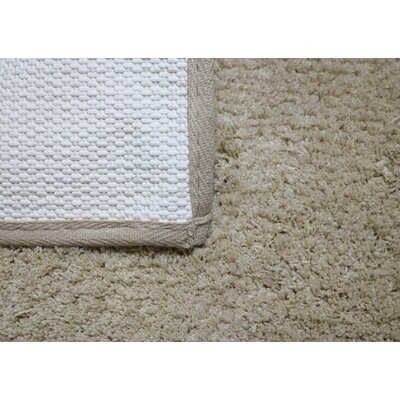Engelman Luxury Latex Micro Fiber Bath Rug Size: 17 W x 24 L, Color: Silver