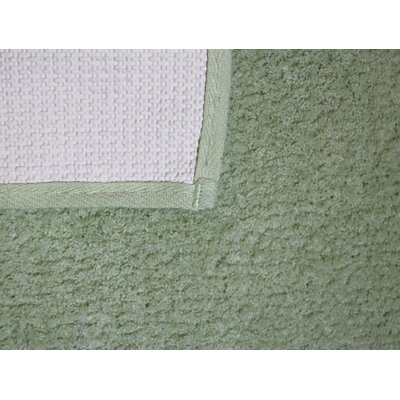 Engelman Luxury Latex Micro Fiber Bath Rug Size: 24 W x 40 L, Color: Green