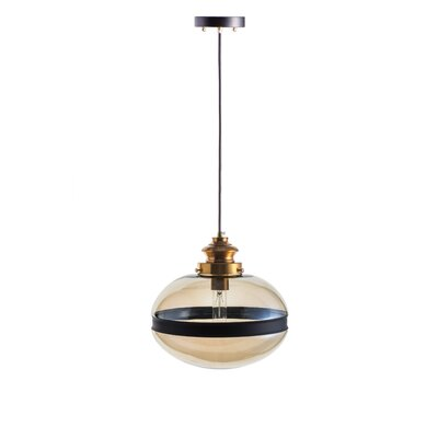 Gulick 1-Light Globe Pendant