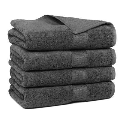 Kring Zero Twist Bath Towel Color: Gray