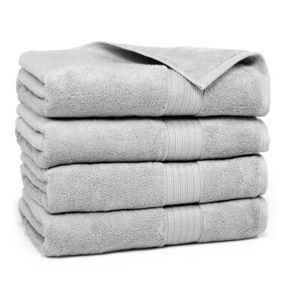 Kring Zero Twist Bath Towel Color: Silver