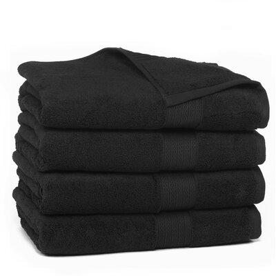 Kring Zero Twist Bath Towel Color: Onyx