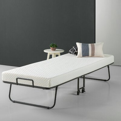 Gerth Smart Guest Folding Bed with Mattress Size: Twin