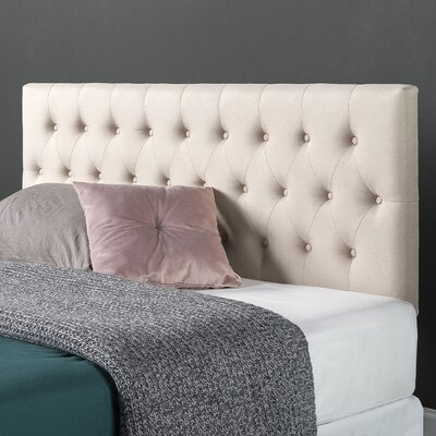 Kangas Upholstered Panel Headboard Size: Twin