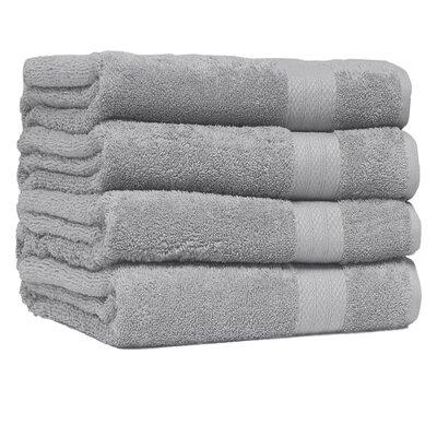 Cressex Absorb Cotton Bath Towel Color: Platinum