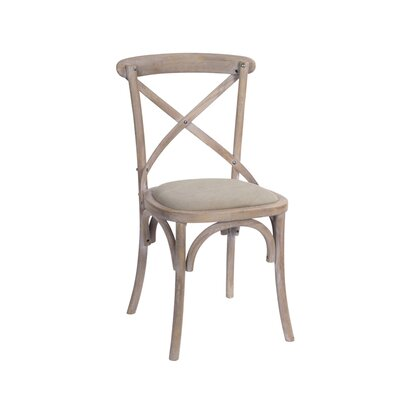Tumlin Wood Upholstered Dining Chair
