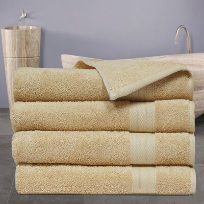 Cressex Absorb Cotton Bath Towel Color: Beige