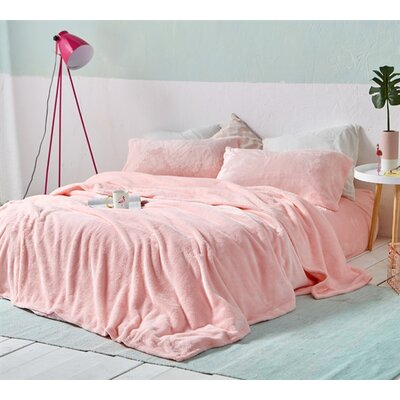 Boulder Brook Comfy Microfiber Sheet Set Size: Twin XL, Color: Rose Quartz