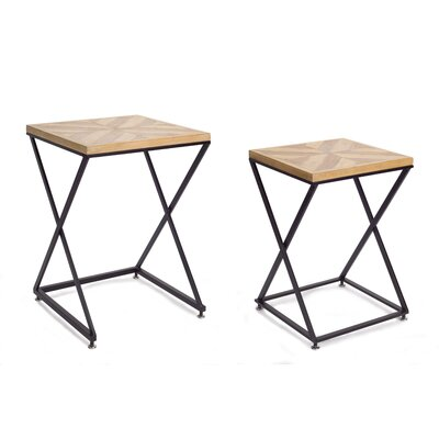 North Stoke Accent 2 Piece Nesting Table Set