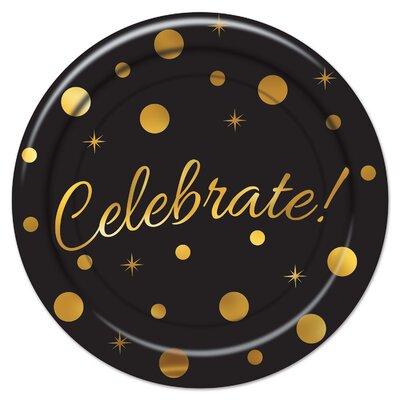 Celebrate Paper Plate (Set of 3) 53356