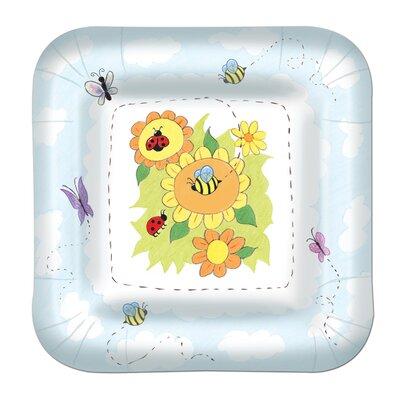 Garden Paper Plate (Set of 3) 58056