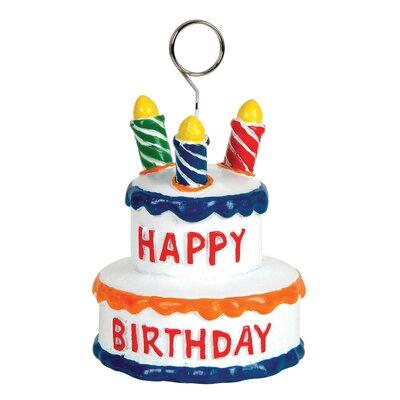 Gadson Birthday Cake Photo Holder Picture Frame (Set of 6) C944A89B8C16463FBBDF5D6A194EC24E