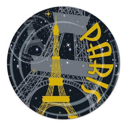 Paris Paper Plate (Set of 3) 58076