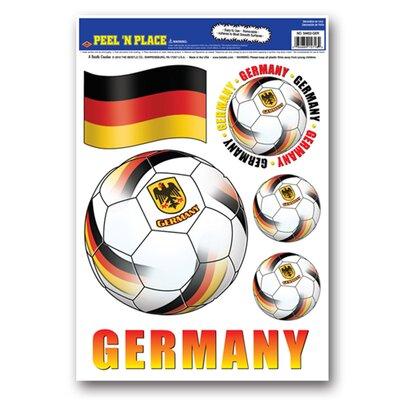 Marc Peel 'N Place 7 Piece Window Sticker Set Team: Germany 53053A85342641A896FEFDF206B92853