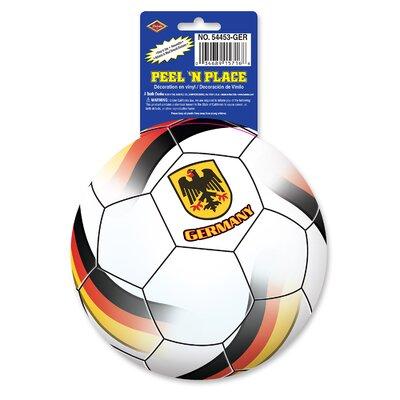 Marcantel Peel 'N Place Window Sticker Team: Germany BE0F147580A847639DD1A4A1472FB6D4