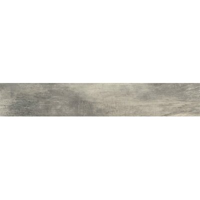 Bridge 8 x 48 Porcelain Field Tile in Ash Gray