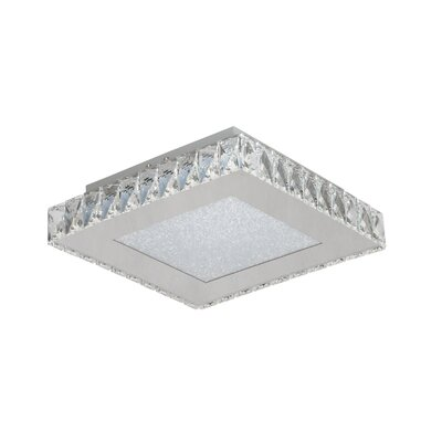 Miyamoto 1-Light LED Flush Mount Size: 3.5 H x 13 W x 13 D