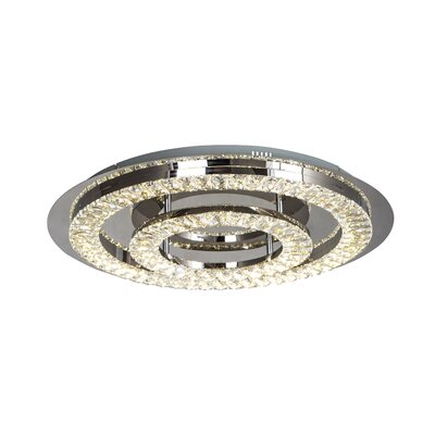 Moberg 1-Light LED Flush Mount