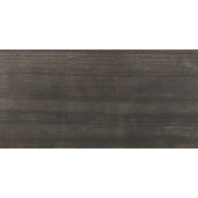 Belle Harbor 18 x 36 Porcelain Field Tile in Charrcoal
