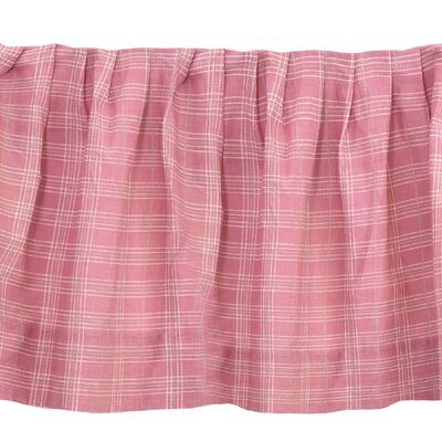 Hensel Plaid 150 Thread Count Bed Skirt Size: King