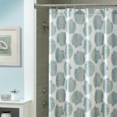 Mosaic Shell Shower Curtain