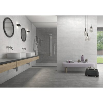 Atrium Moon 12 x 24 Porcelain Field Tile in Marengo
