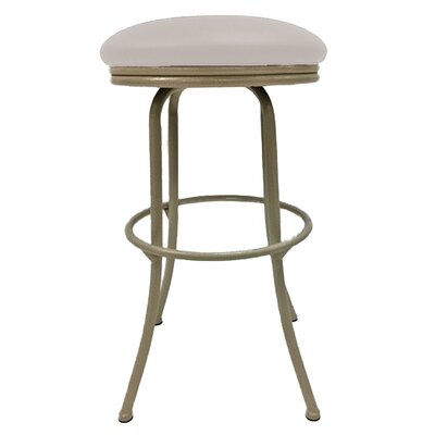 Podington 35 Swivel Bar Stool Upholstery: Ocean Beige