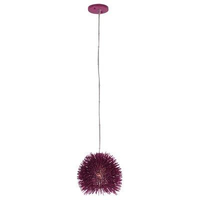 Urchin 1-Light Mini Pendant Size: 10 H x 9 W x 9 D