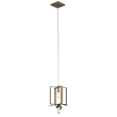 Posh 1-Light Mini Pendant Finish: Havana Gold