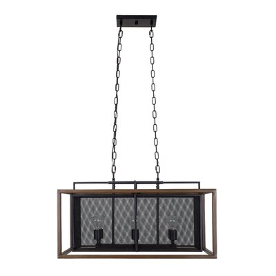 Rio Lobo 6-Light Kitchen Island Pendant