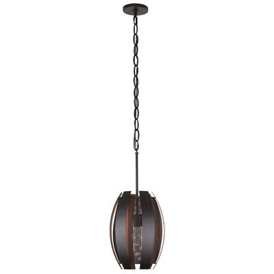 Sawyers Bar 1-Light Mini Pendant Finish: Copper Ore, Size: 14 H x 10 W x 10 D