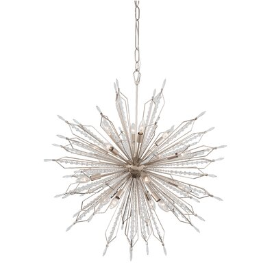 Orbital 16-Light Geometric Pendant