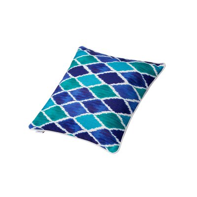 Harlequin Square Throw Pillow