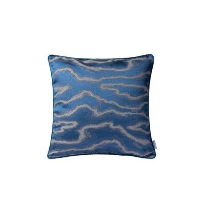 Fluid Square Throw Pillow