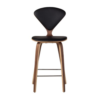 Bar Stool Upholstery: Black, Size: 38.5 H x 18 W x 20.5 D