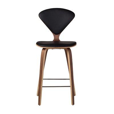 Bar Stool Upholstery: Black, Size: 42.5 H x 18 W x 20.5 D
