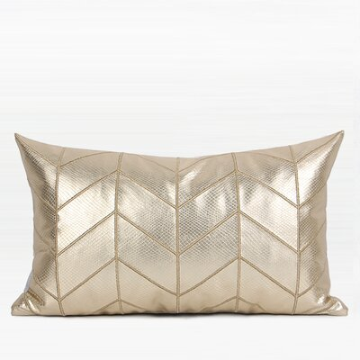 Murrah Chevron Pattern Pillow Fill Material: Polyester/Polyfill, Product Type: Lumbar Pillow