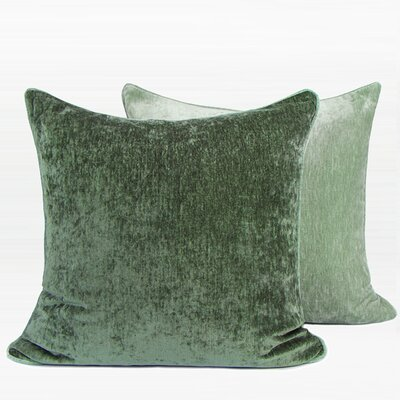 Herren Two Side Pillow Color: Green, Fill Material: Polyester/Polyfill, Product Type: Throw Pillow