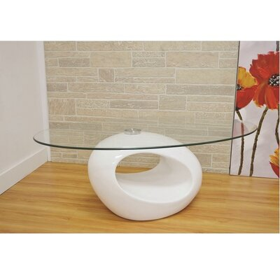 Wendt Coffee Table Table Base Color: White