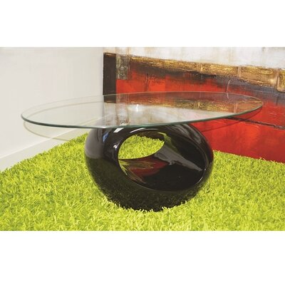 Wendt Coffee Table Table Base Color: Black