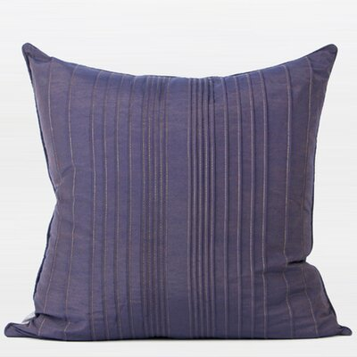 Murillo Striped Textured Pillow Product Type: Throw Pillow, Fill Material: Down/Feather