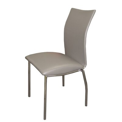 Dutcher Dining Chair (Set of 2) Upholstery Color: Gray