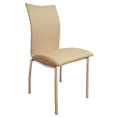 Dutcher Dining Chair (Set of 2) Upholstery Color: Beige
