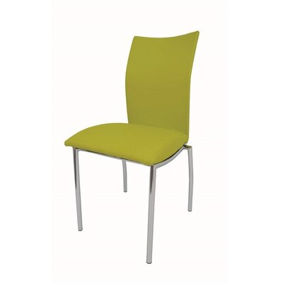 Dutcher Dining Chair (Set of 2) Upholstery Color: Green
