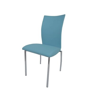 Dutcher Dining Chair (Set of 2) Upholstery Color: Baby Blue