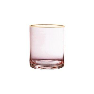 Morena Old Fashion Glass Stemless Vino Glass Color: Pink 8E1AF2021D5F453984AE86C8CAA4656C