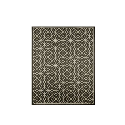 Magdaleno Charcoal Gray Indoor/Outdoor Area Rug