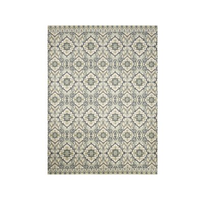 Moyers Beige/Blue Area Rug Rug Size: Rectangle 8 x 10